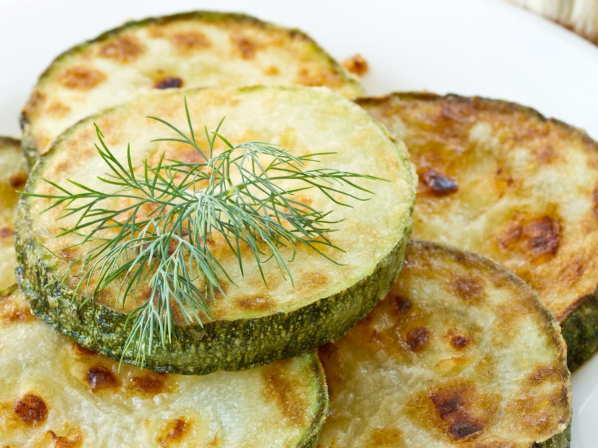 Baked and Dressed Zucchini