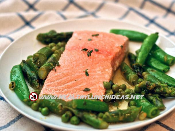 Quick Easy Poached Salmon