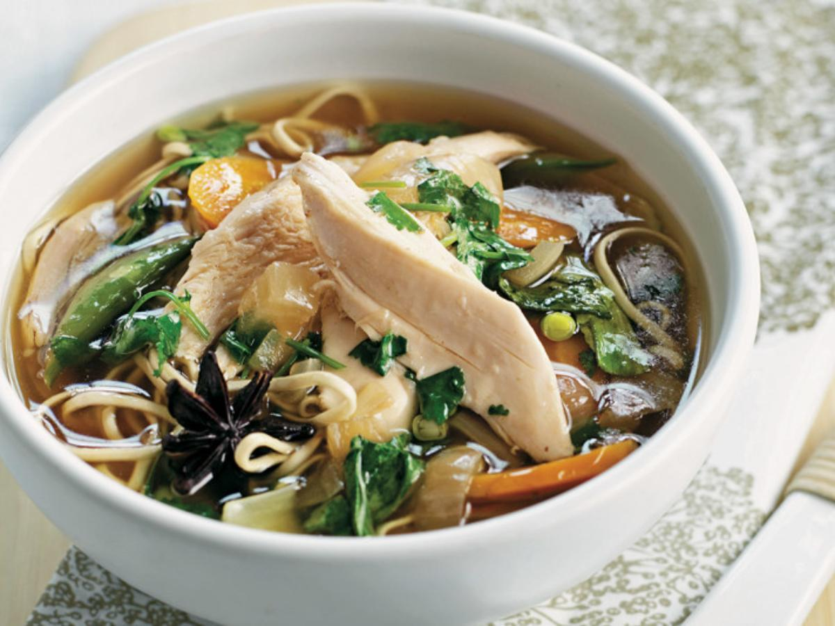 Slow-Cooker Spiced Chicken Soup Healthy Recipe