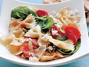 Spinach and Tomato Farfalle